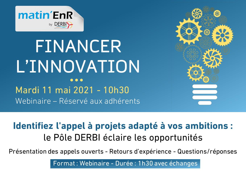 Financer l'innovation - Webinaire 11 mai 2021