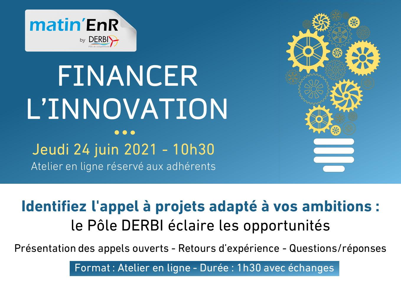 Financer l'innovation n°3 Jeudi 24 juin 2021