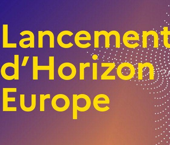 Lancement du programme Horizon Europe