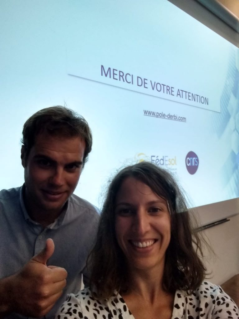 JNES 2021 - Aline et Guilhem pour le Pôle Derbi