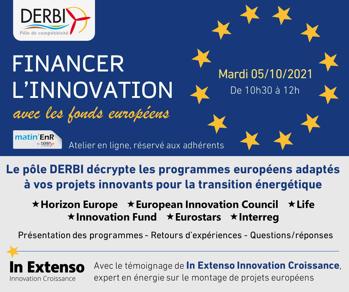 Financer l'innovation avec les fonds européens