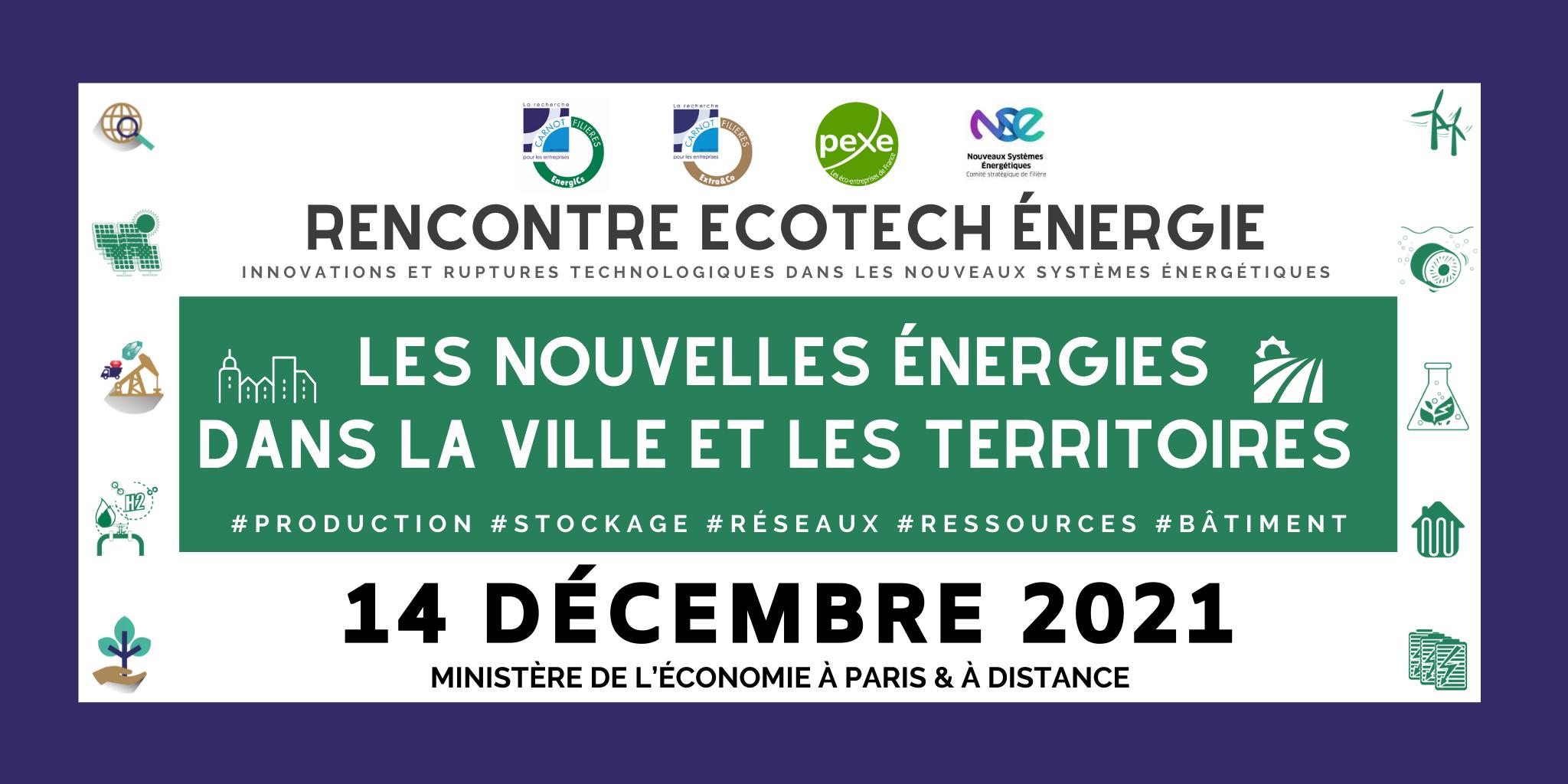 Rencontres Ecotech Energie 2021